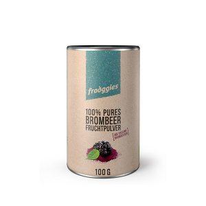 Frooggies Fruchtpulver Brombeere