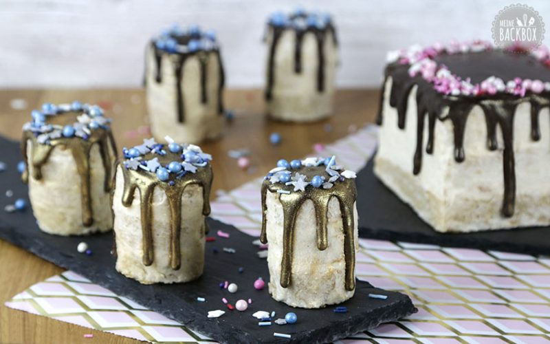 Bratapfel Drip Cake Rezept
