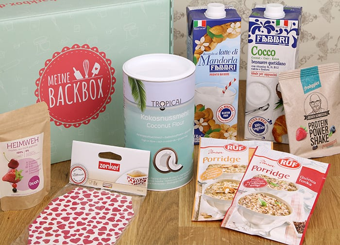 Meine Backbox Inhalt Januar Fit & Healthy Box
