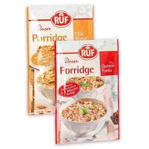 RUF Porridge Chia-Mandel & Quinoa Tonka
