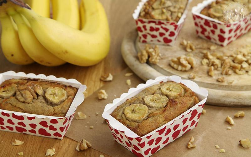 Bananenbrot mit Kokosmehl Rezept Januar Box