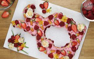 Osterhasen Kekstorte Number Cake Rezept Osterbox