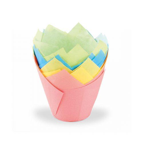 Dr. Oetker Küchenhelfer Tulip-Papierbackförmchen