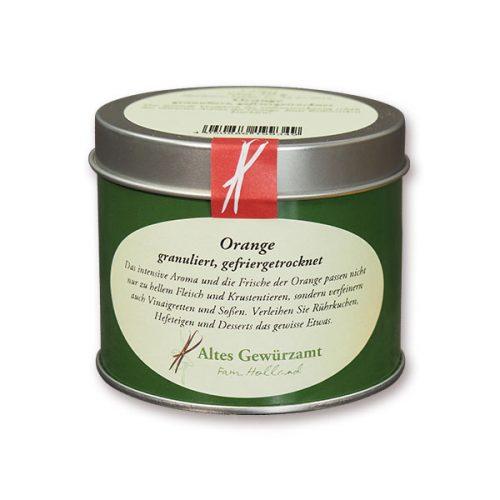 Altes Gewürzamt Gefriergetrocknete Orange