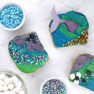 Mermaid Toast Rezept Juli Box
