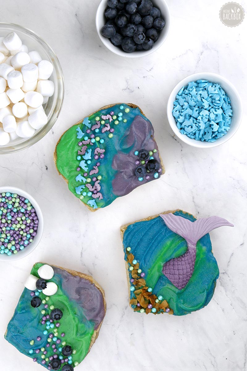 Mermaid Toast Rezept Juli Box