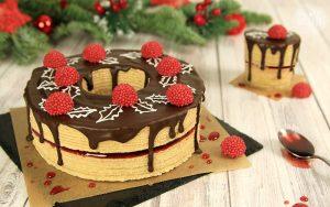 Adventskranz Baumkuchen Weihnachtsbox