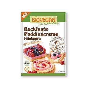 Biovegan Backfeste Puddingcreme Himbeere