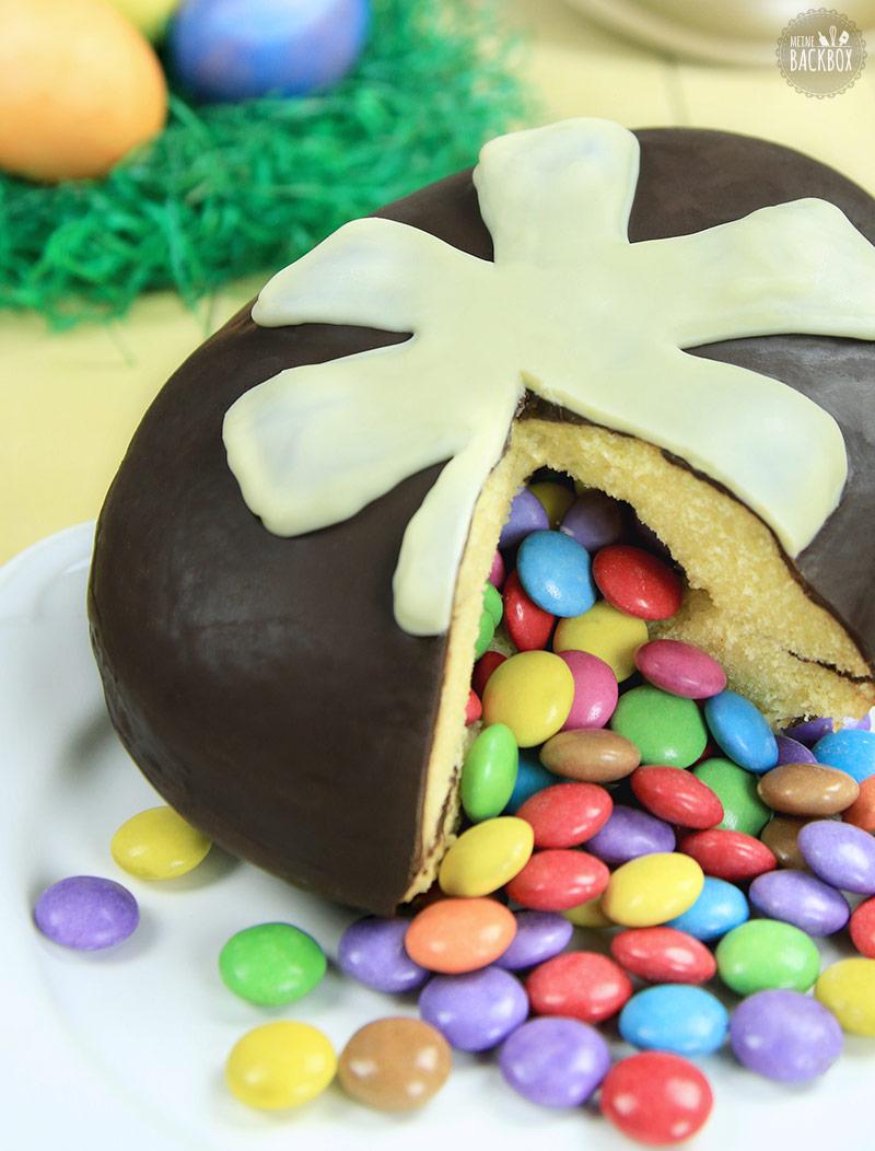 Osterei-Pinata Cake Rezept Osterbox