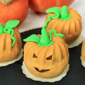 Kürbis Gugelhupfe Halloween Rezept