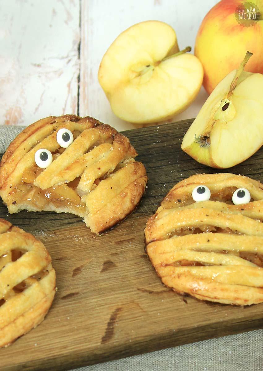 Mini Apple Pies Halloween Rezept