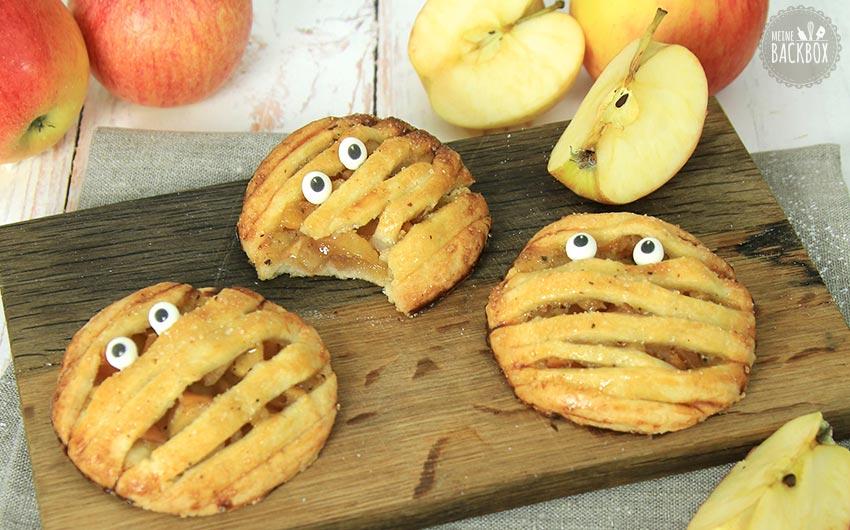 Mini Mumien Apple Pies Halloween Rezept