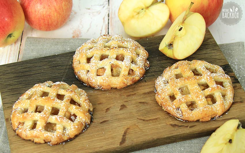 Mini Apple Pies Rezept