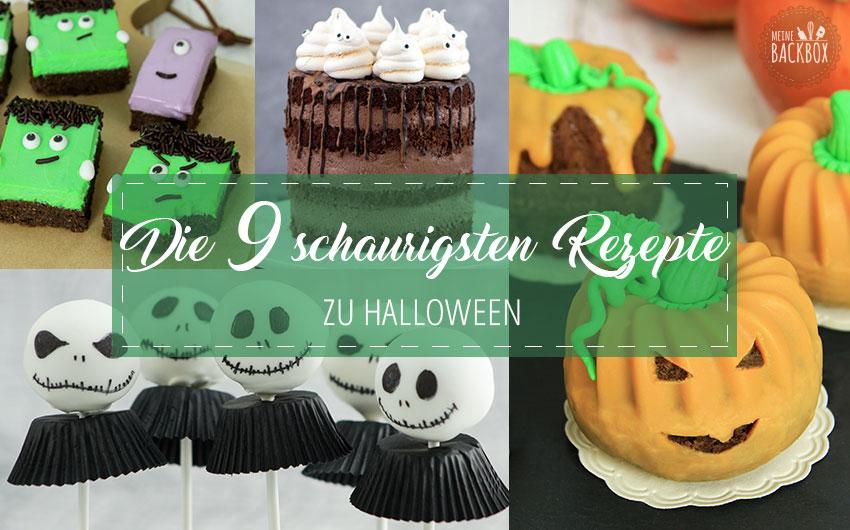 Die besten Halloween Rezepte