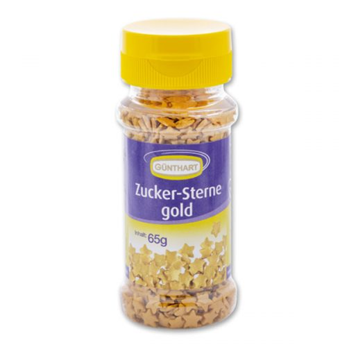 Günthart Zucker-Sterne Gold