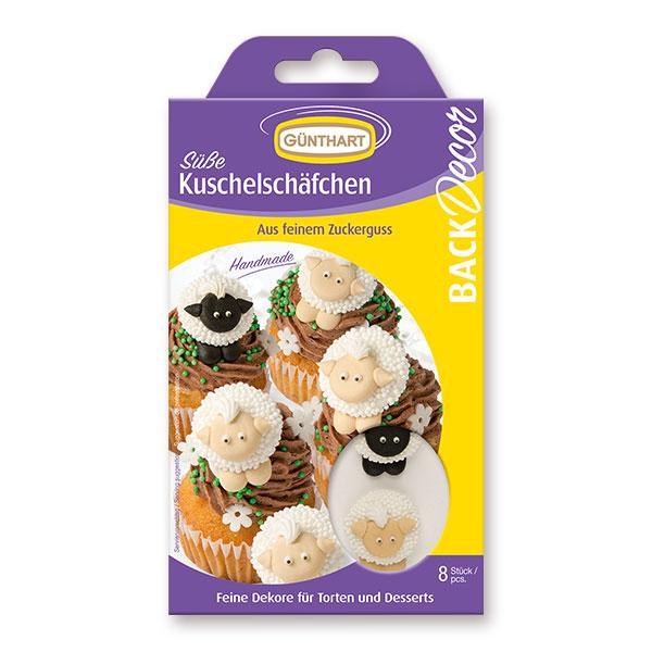 Günthart süße Kuschelschäfchen – Zuckerfiguren Schaf