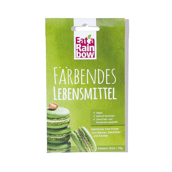 Eat a Rainbow natürliches Lebensmittel-Farbpulver Grün