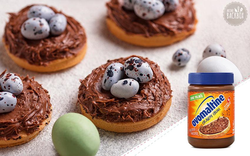 Osterbox Sneak – Osternester mit Ovomaltine Crunchy Cream