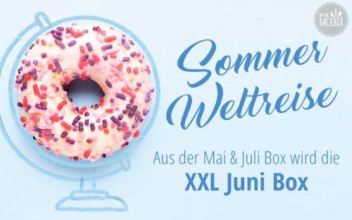 Sommer Weltreise Box XXL Juni Box Corona Update