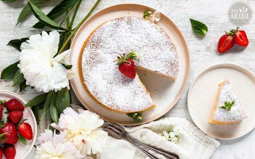 Japanischer Käsekuchen – Cotton Cheesecake Rezept