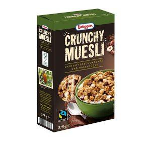 Brüggen Chrunchy Müsli Zartbitterschokolade & Haselnüsse