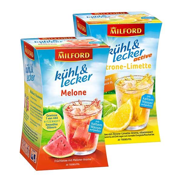 Milford lühl & lecker Zitrone-Limette & Melone