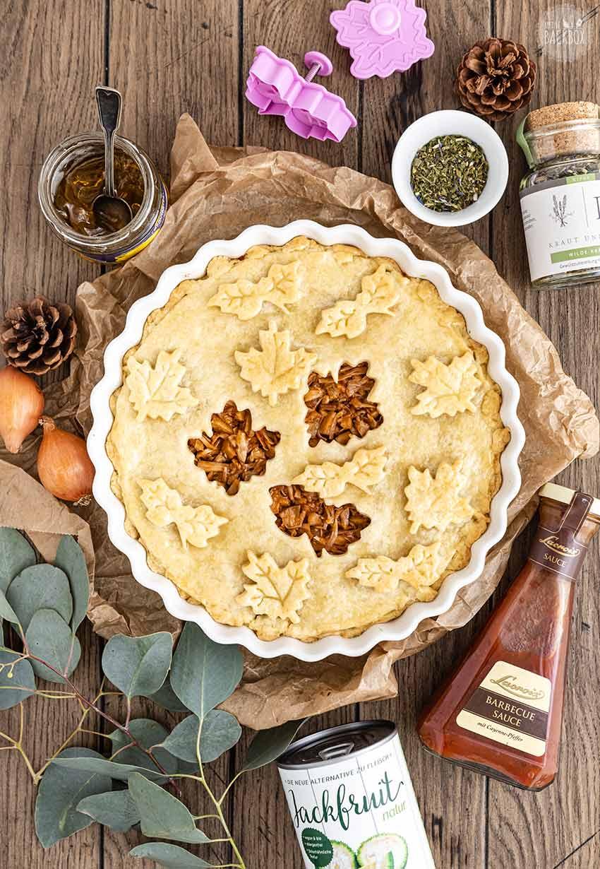 Barbeque Jackfruit Pie Rezept