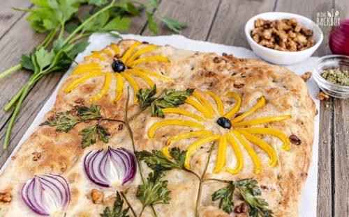 Kräuter Focaccia Garden Rezept
