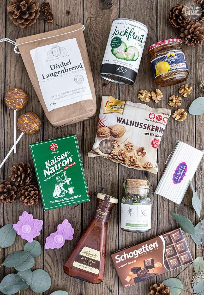 Unboxing Inhalt Süß und Salzig Box