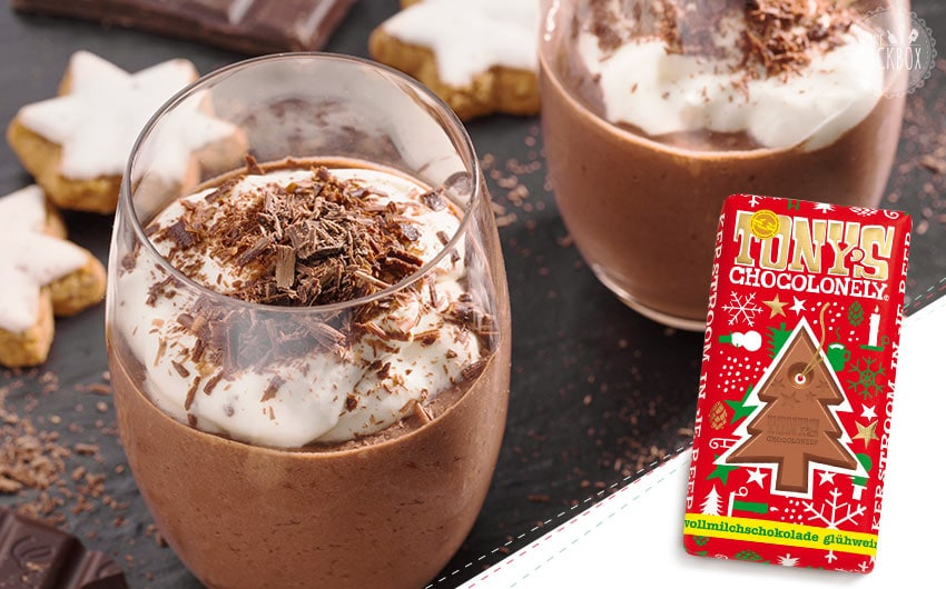 Sneak Back Adventskalender mit Tony's Chocolonely Glühwein