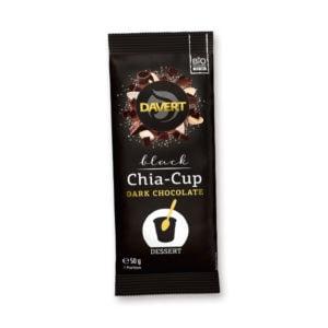 Davert Black Chia-Cup Dark Chocolate