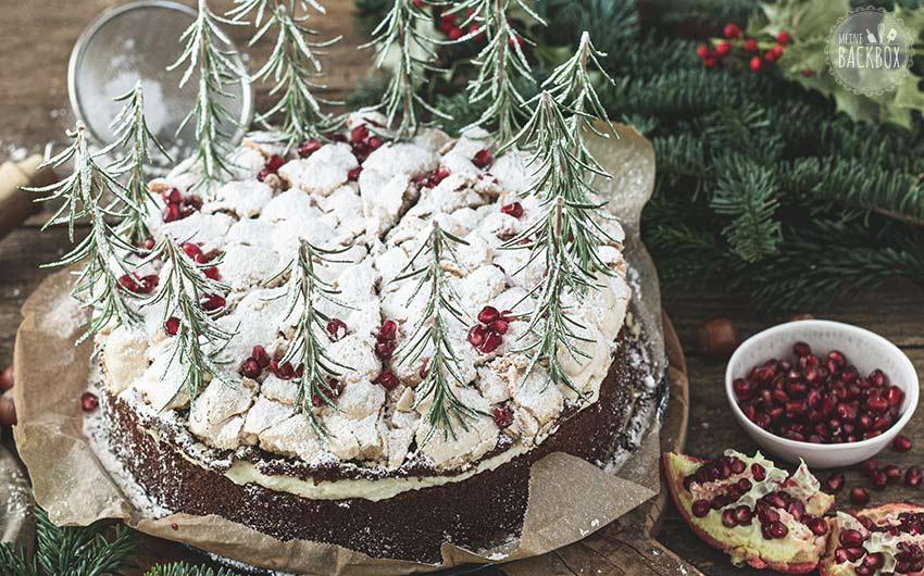 Schneegestöber Torte