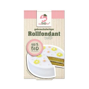 caBIOke Bio Rollfondant Weiß