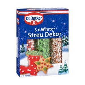 Dr. Oetker Winter Streu Dekor