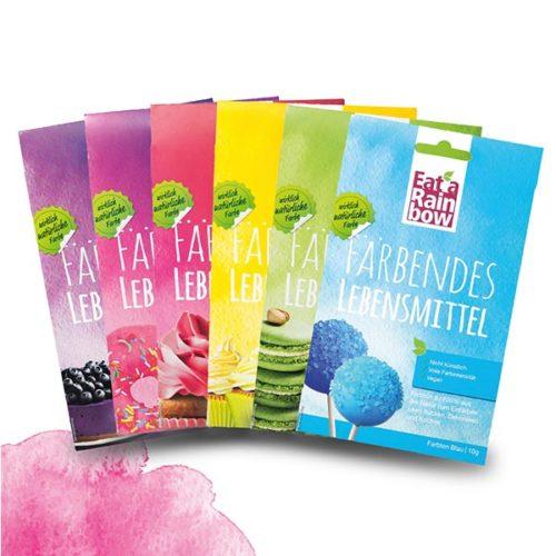 Eat a Rainbow Natürliche Lebensmittelfarben