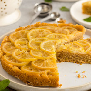 Veganer Upside Down Cake