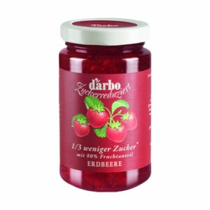 Darbo Zuckerreduzierter Fruchtaufstrich Erdbeere