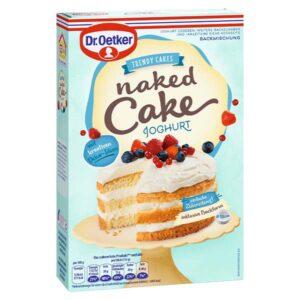 Dr. Oetker Naked Cake Joghurt Backmischung