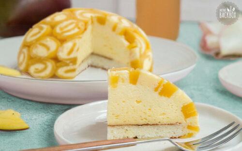 Mango-Vanille Charlotte glutenfrei