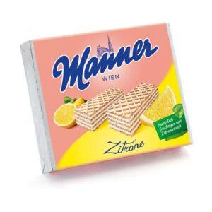 Manner Zitronen Waffel