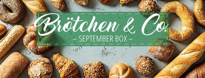 Thema September Box: Brötchen & Co.