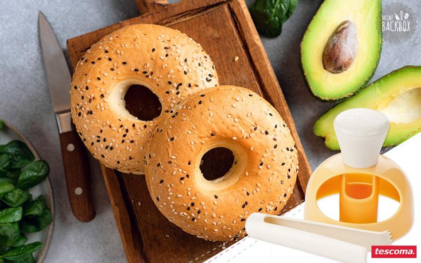 Sneak Brötchen & Co. Box: Tescoma Donut Ausstecher für Bagels