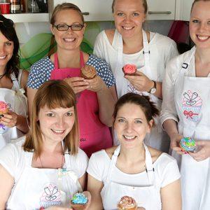 Backkurs Cupcakes JGA
