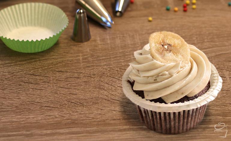 Bananarama Cupcake