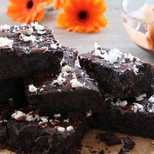 schwarze Bohnen Brownies fructosefrei glutenfrei