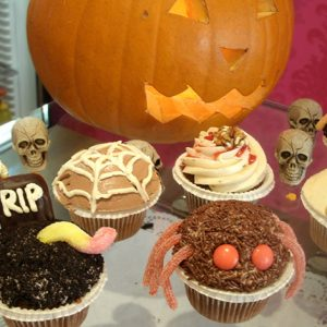 Bootiful Pumpkin & Halloween Cupcakes