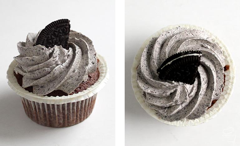 Cookies Cream Oreo Cupcakes