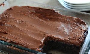 Devils Food Chocolate Cake