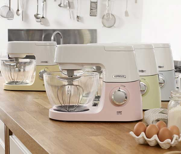 Kenwood Chef Sense Colour Collection Farbauswahl