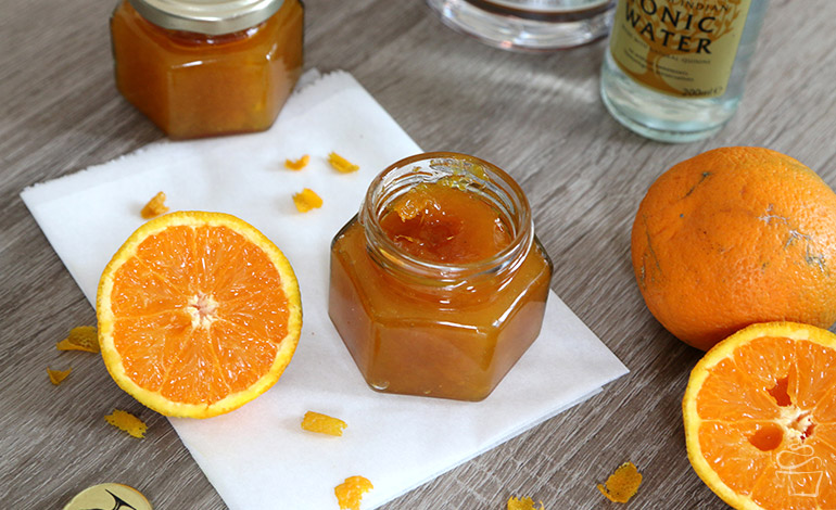 Orangen Gin Marmelade
